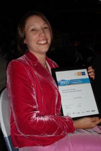 2005 Young business woman NSW