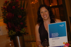 LaRoo NSW Micro business in Telstra business awards